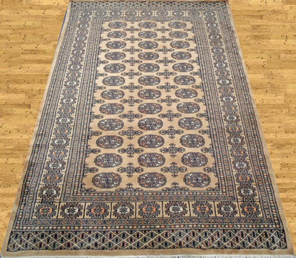 Pakistan Mori Bokhara Rug In Beige: History Of Carpet And Its Manufacturers In Pakistan